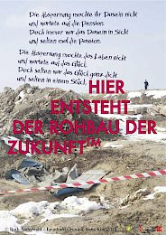 Monthly poster; photo / poster © Ruth Anderwald + Leonhard Grond, 2013